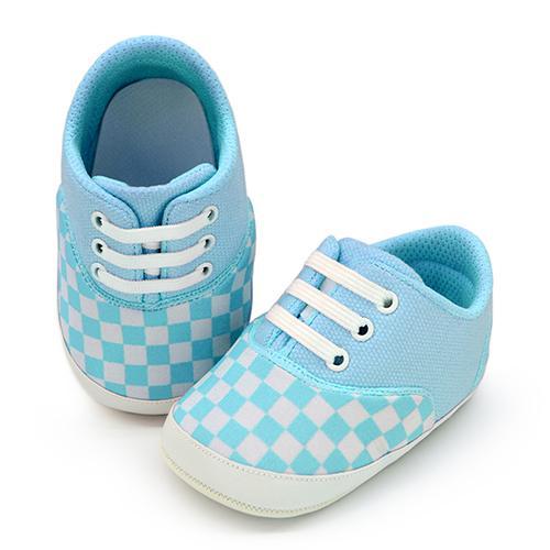 andy checker blue