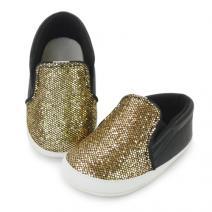 tony sparkly gold