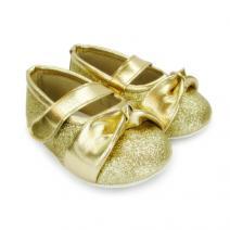 katie sparkly gold