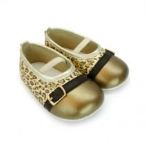 paris leopard gold